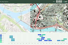 Living Atlas Of The World ArcGIS - Historical topo maps